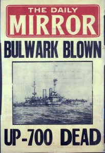 Image of Daily Mirror placard