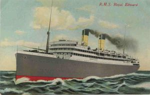 image of troopship Royal Edward
