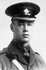 Lieutenant Euan Louis Mylne © IWM (HU 126105)