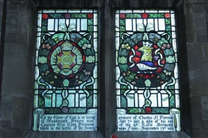 Salter Street church window