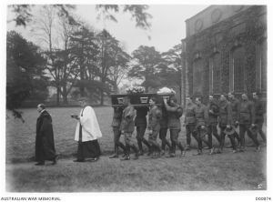 funeral of Corporal C N Ryder