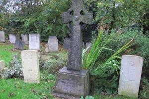 gravestone at Castle Bromwich