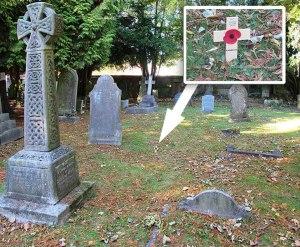 grave of HW Smith