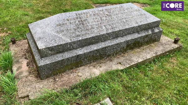 Grave of General George Whichcote